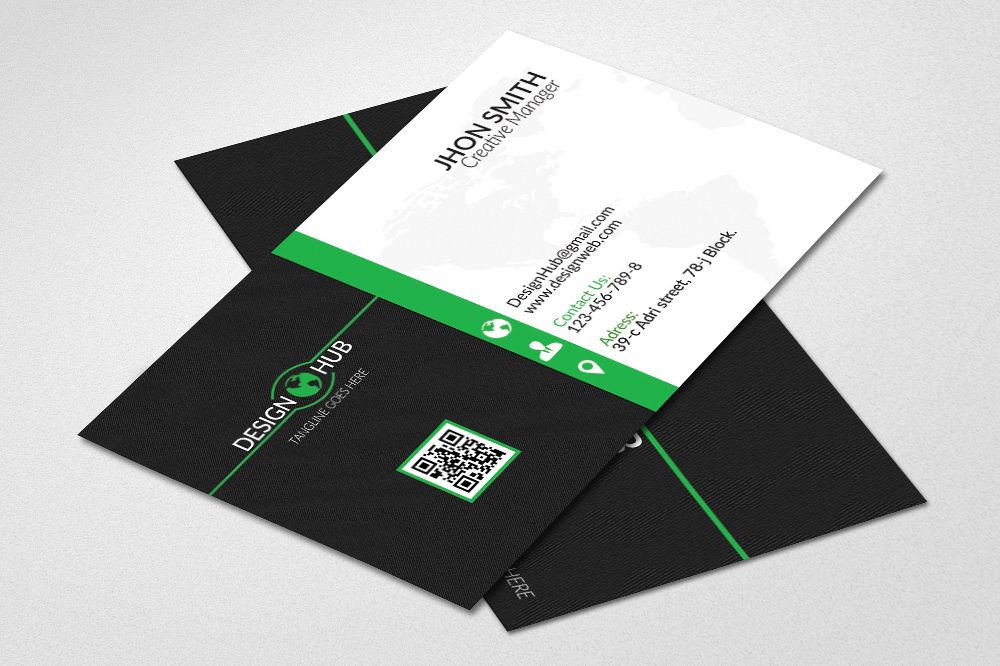 Creative business cards design by desig design bundles creative business cards design example image reheart Gallery