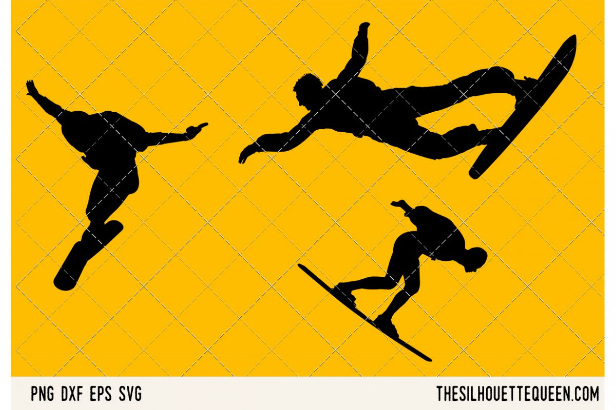Sky Surfing SVG example image 1