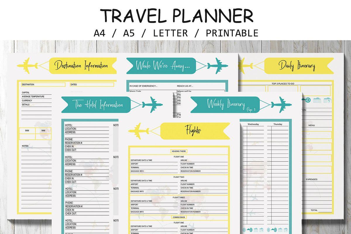 Vacation Planner Lifehacked1st Com