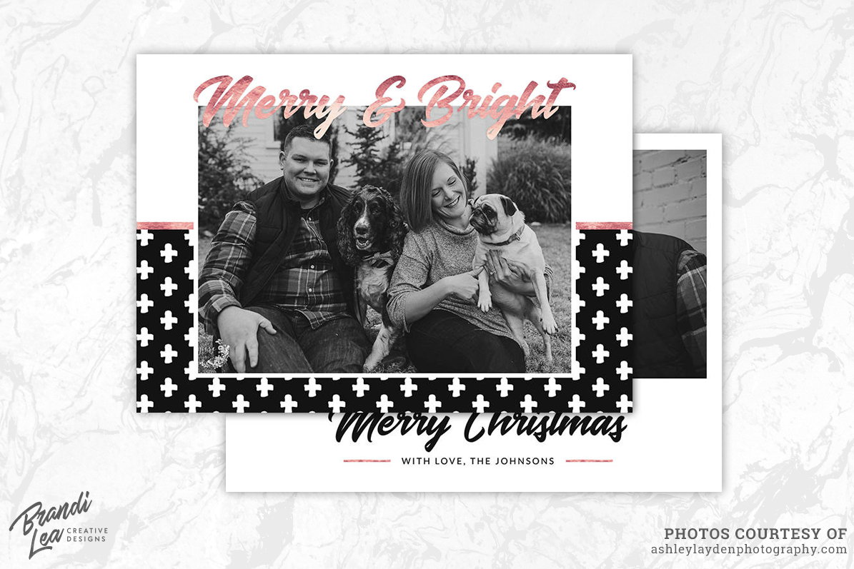 photography christmas card template example image 1 - Christmas Card Templates For Photographers