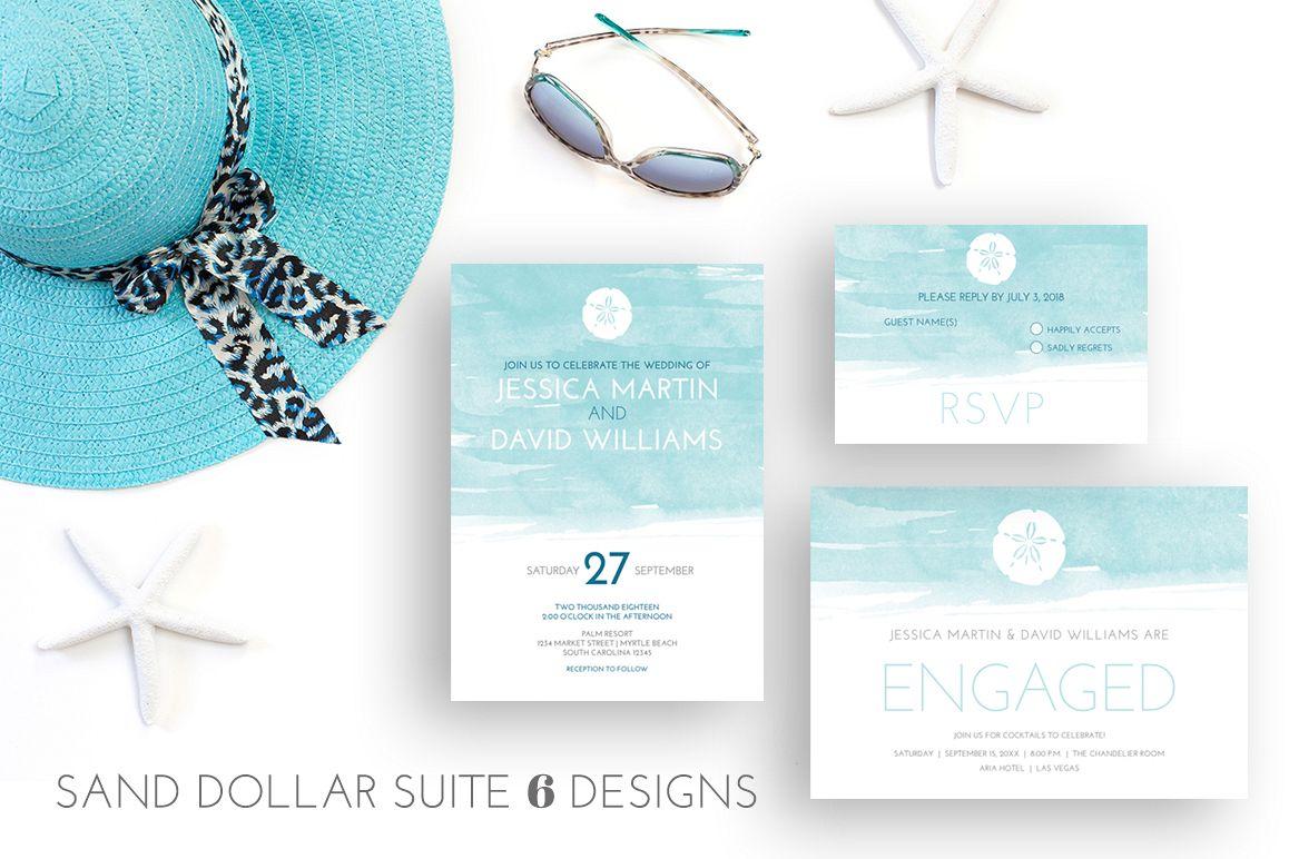 Sand Dollar Beach Wedding example image 1