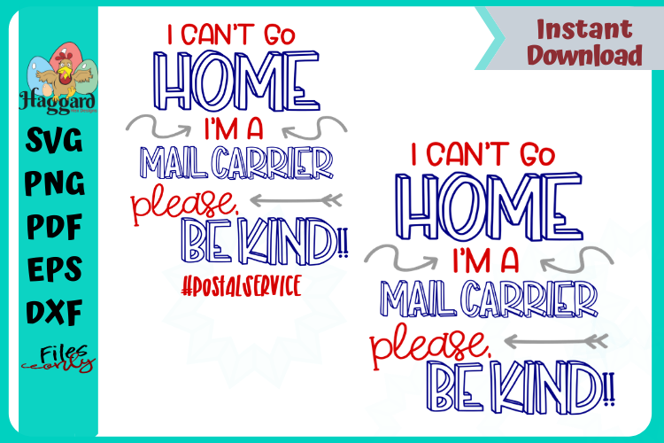 I can't stay home Mail-Force Bundle example image 1
