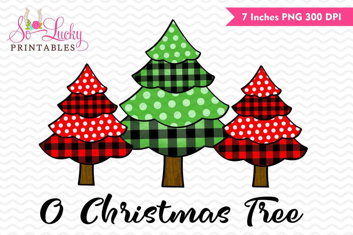 Printable Christmas Tree.O Christmas Tree Watercolor Printable Sublimation Design