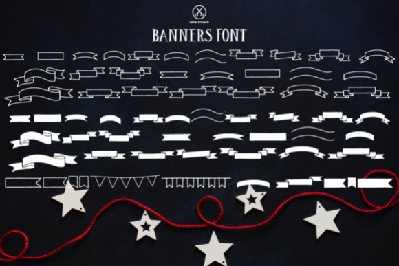 Banners Font example image 1