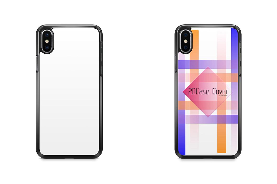 official photos a7a31 e4db0 iPhone X 2DCase Mockup Back View
