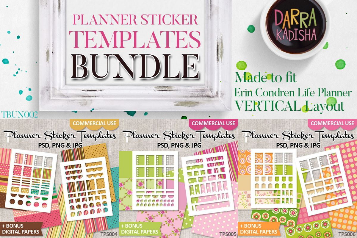 picture relating to Diy Planner Templates titled Electronic Planner Sticker Templates Offer Vol. 2 - Do it yourself Package