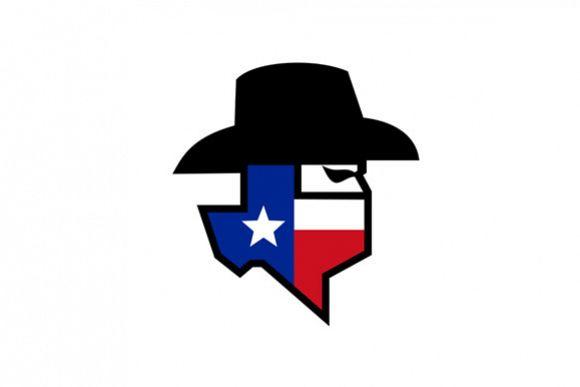 Bandit Texas Flag Icon example image 1