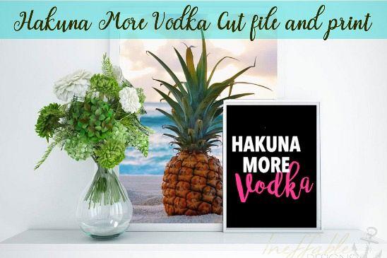 Hakuna More Vodka example image 1