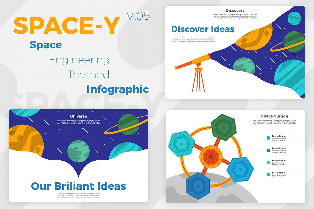 Space-Y v5 - Infographic example image 1