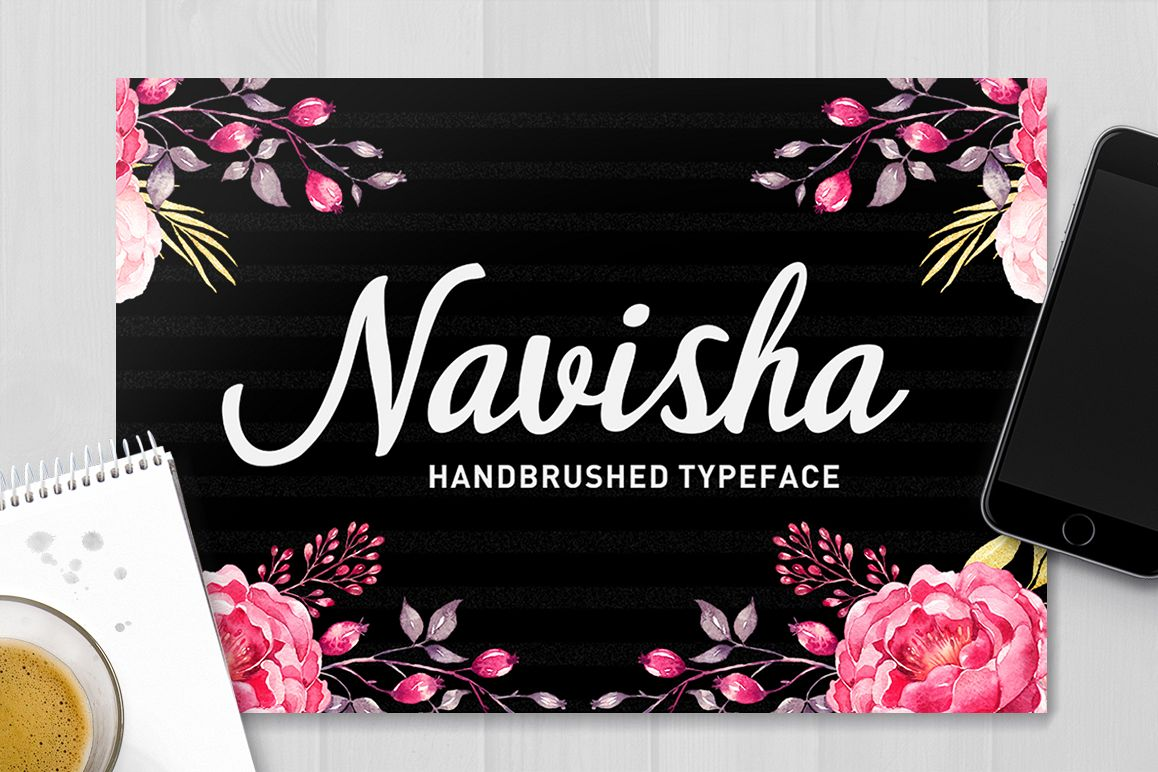 Navisha Script example image 1