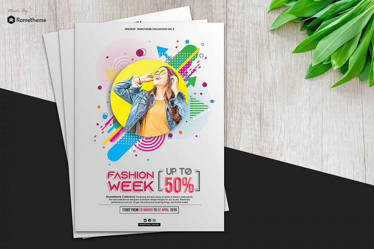 Fashion Modern Flyer vol. 05 example image 1