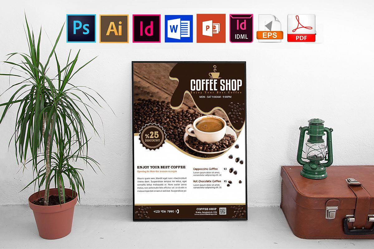 Poster | Coffee Shop Vol-03 example image 1