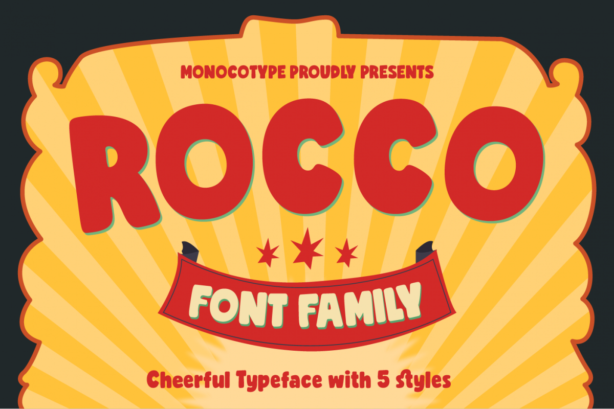 Rocco Font Family example image 1