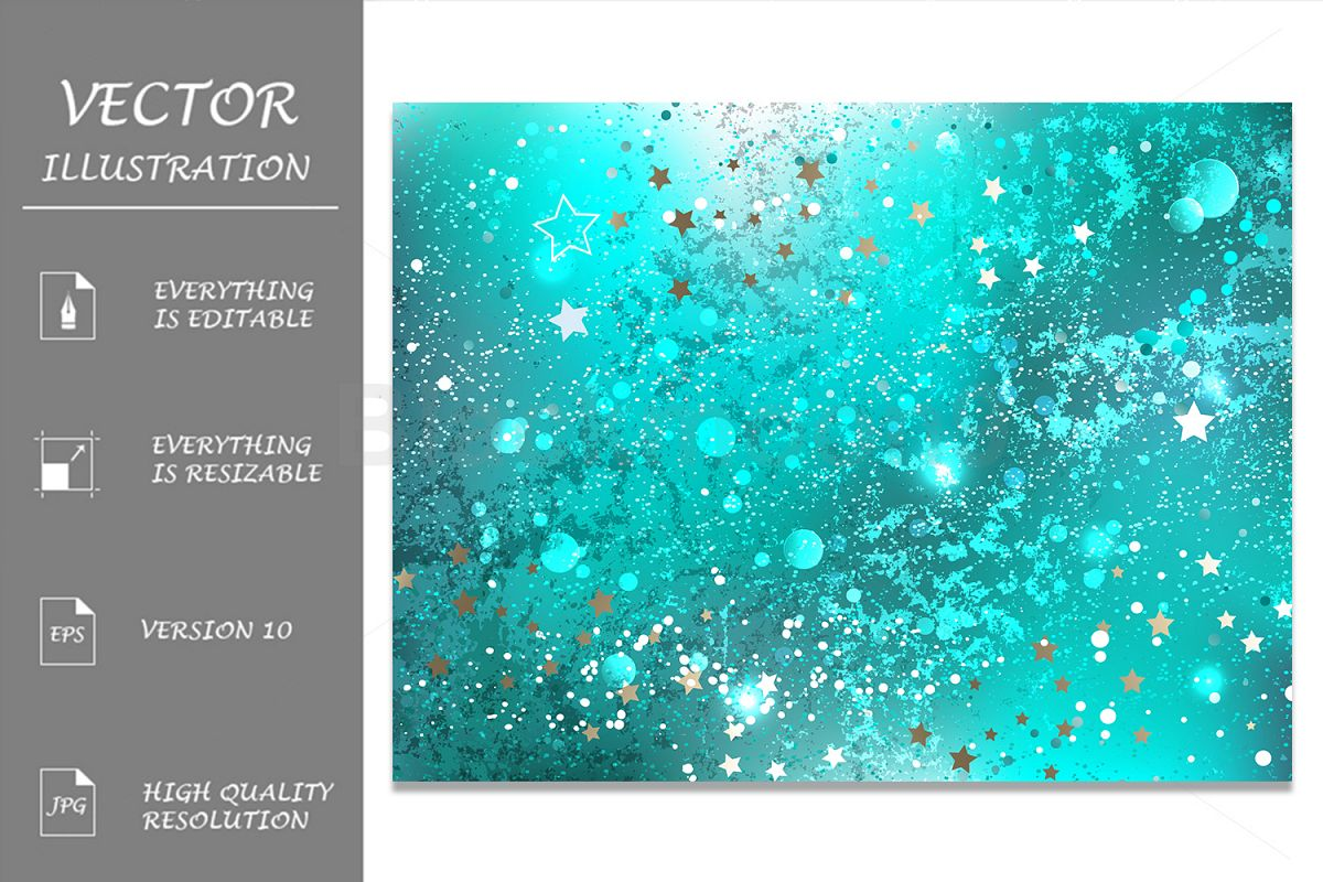 Turquoise Foil Background example image 1
