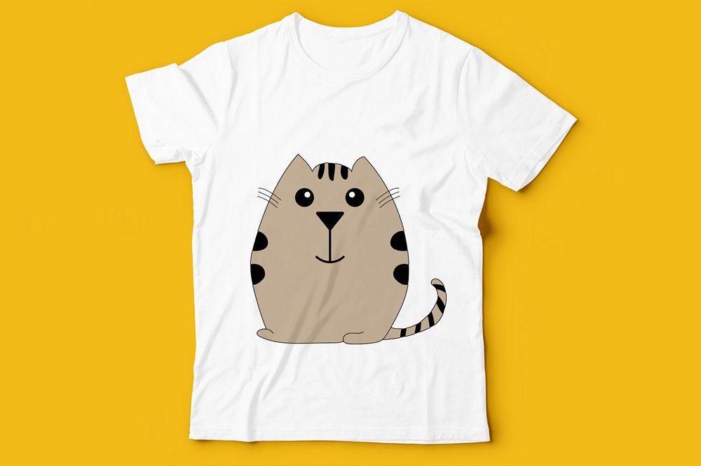 Kids T-Shirt Design Illustration example image 1