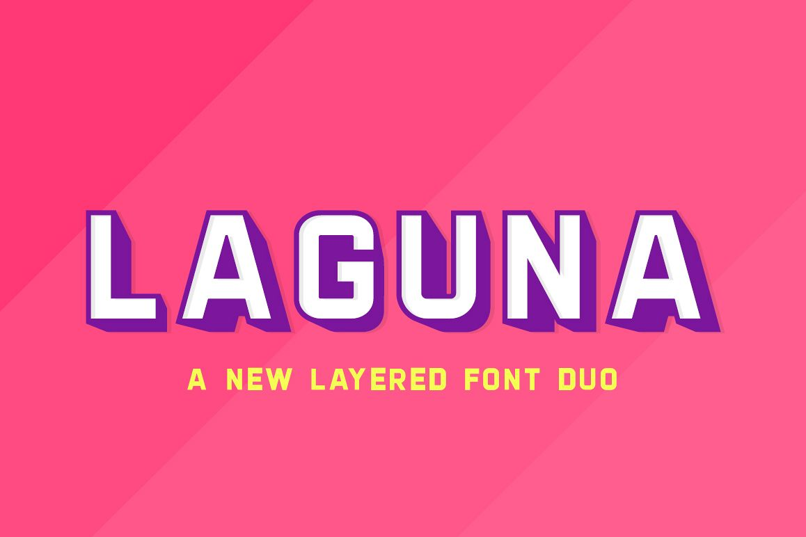 Laguna Font Duo example image 1