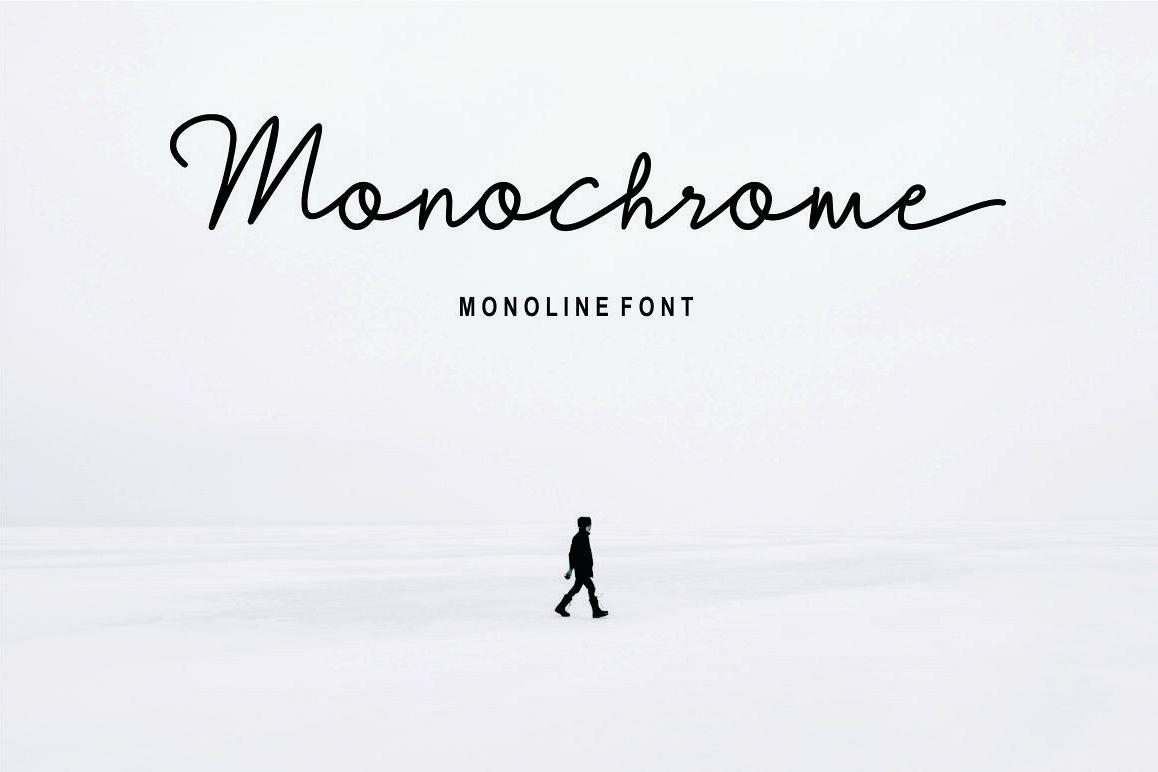 Monochrome example image 1