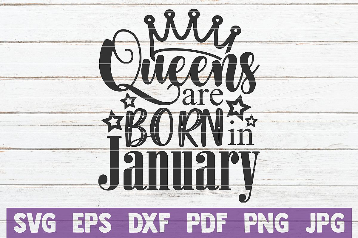 Queens Are Born In January example image 1