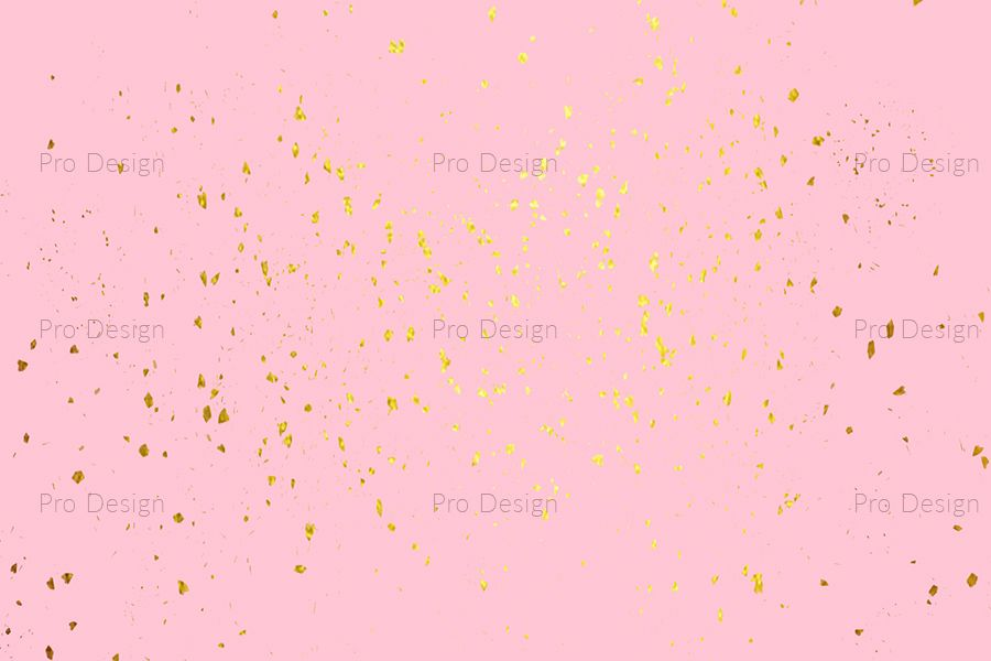 Golden sparkles Background example image 1