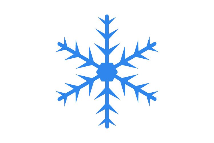 Snowflake icon example image 1
