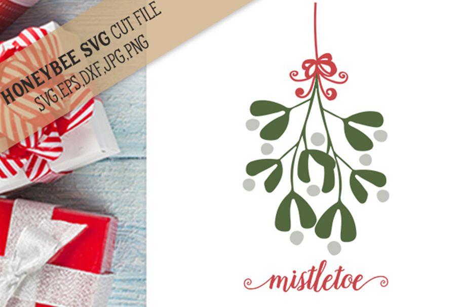 Mistletoe Swag svg example image 1
