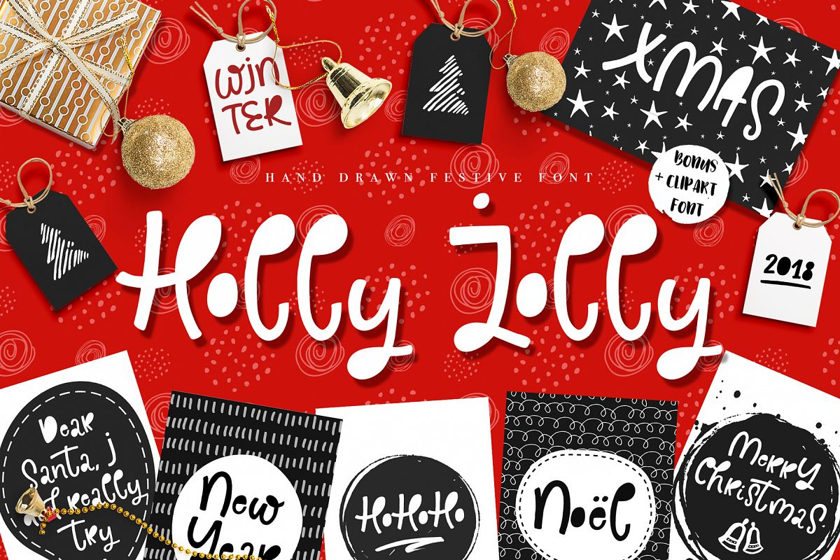 Holly Jolly Font example image 1