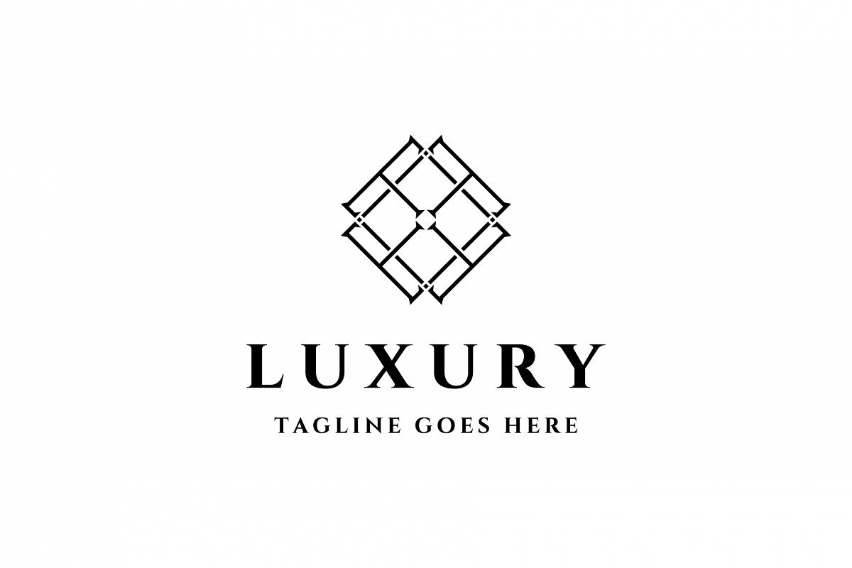 abstract luxury symbol logo example image 1