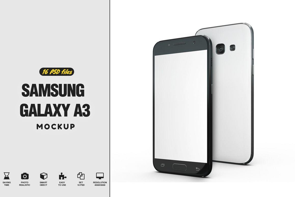 Samsung Galaxy s3 Mockup example image 1