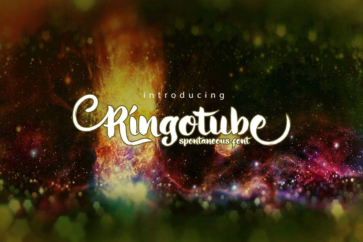 Ringotube font example image 1