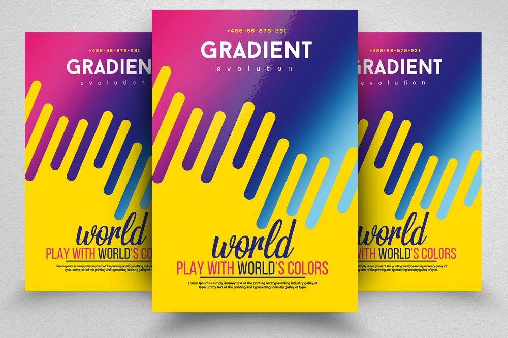Gradient Electro Flyer example image 1