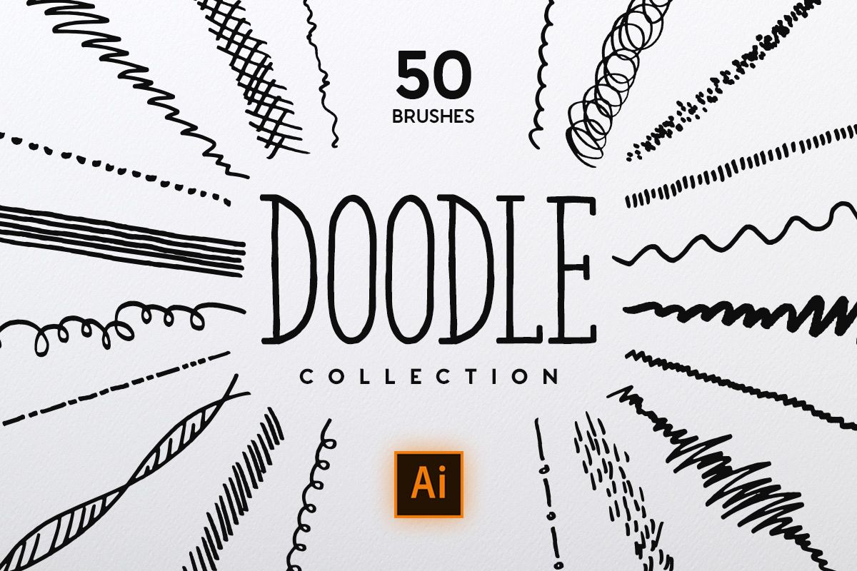 Doodle Brush Collection example image 1
