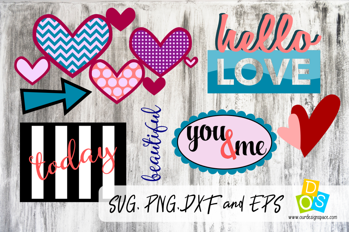 Love Hearts Mixed Pack example image 1