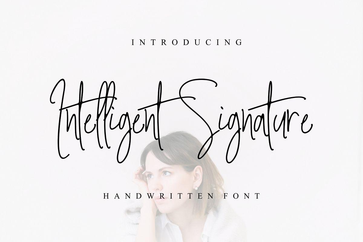 Intelligent Signature example image 1