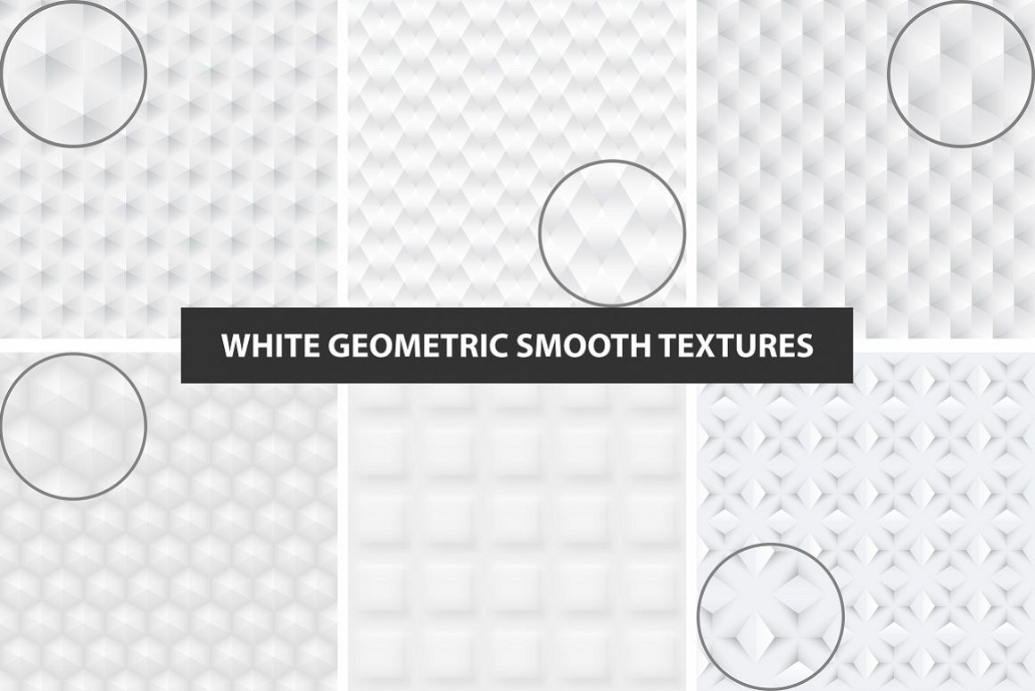 White and gray seamless textures. example image 1