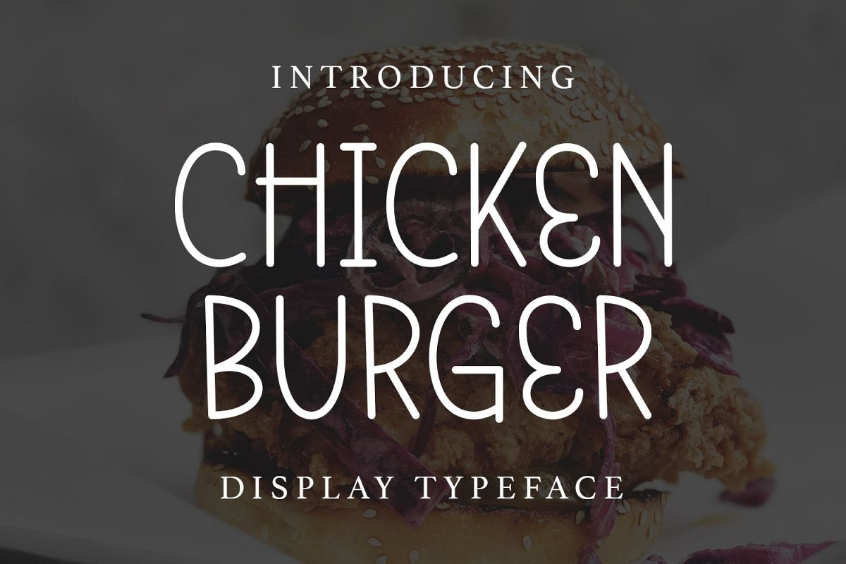 Chicken Burger example image 1