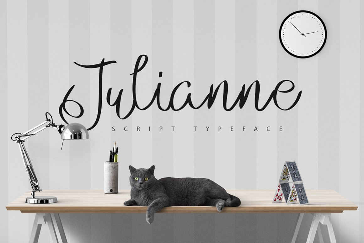 Julianne Script Typeface [-50% Intro] example image 1