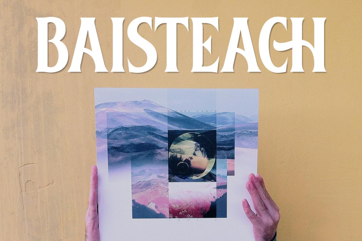 Baisteach | Vintage Serif example image 1