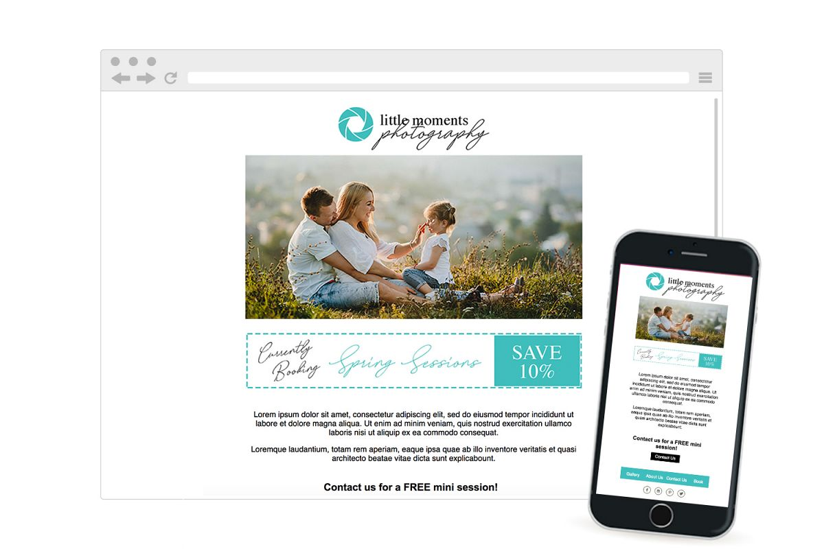Photography Newsletter Responsive Email Template