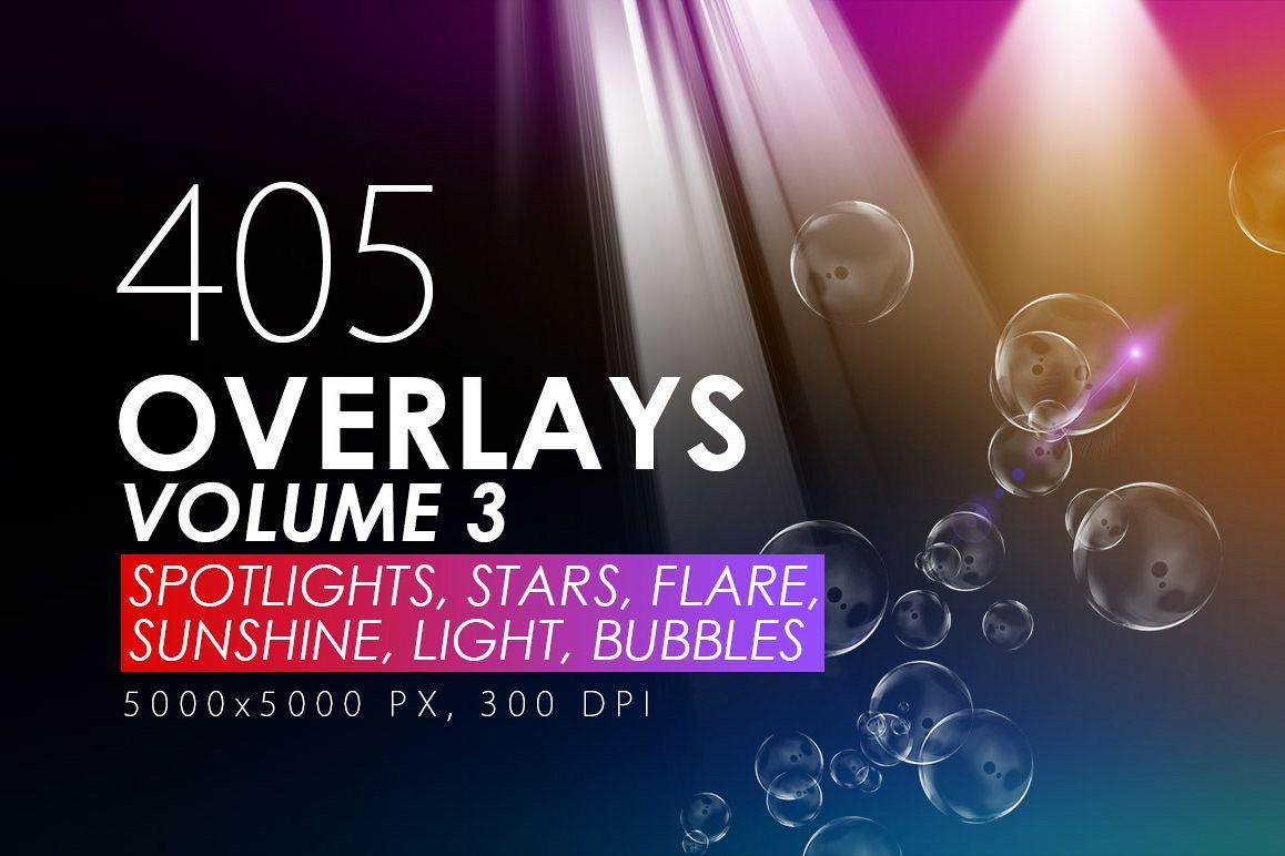 405 Light Rays, Leak, Flare Overlays example image 1