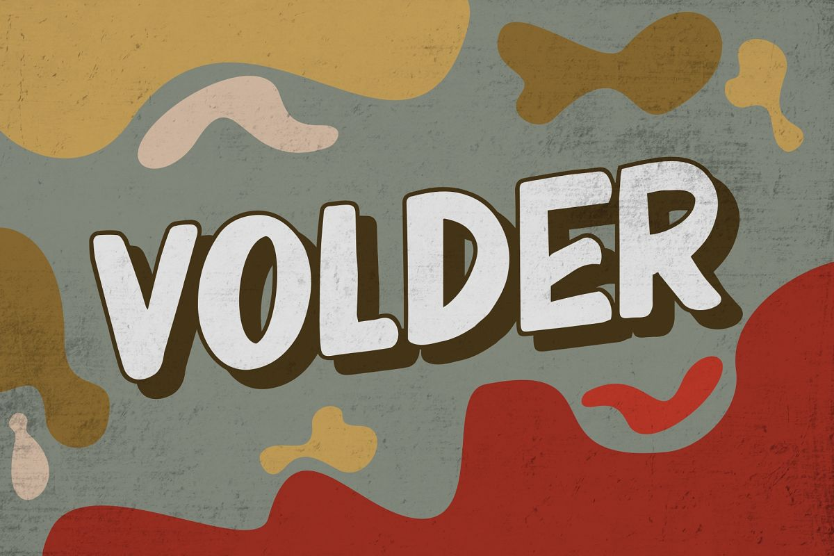 VOLDER Bold Fonts example image 1