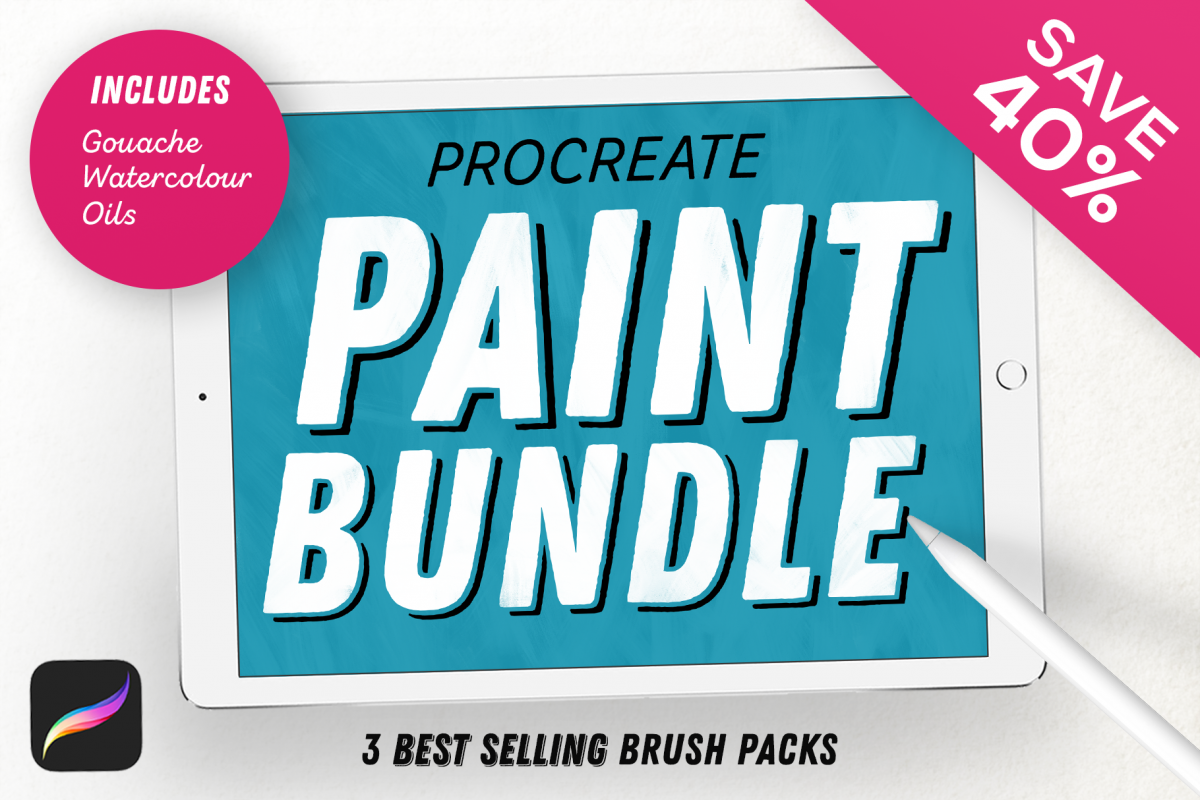 Paint Bundle for Procreate example image 1