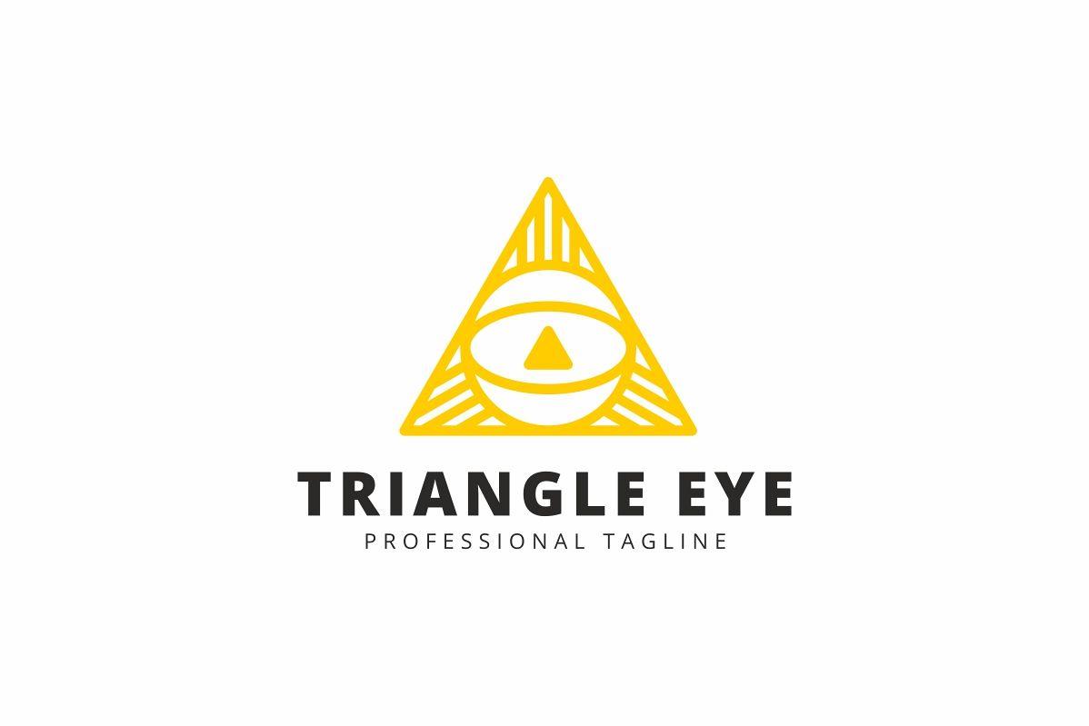 Triangle Eye Logo example image 1