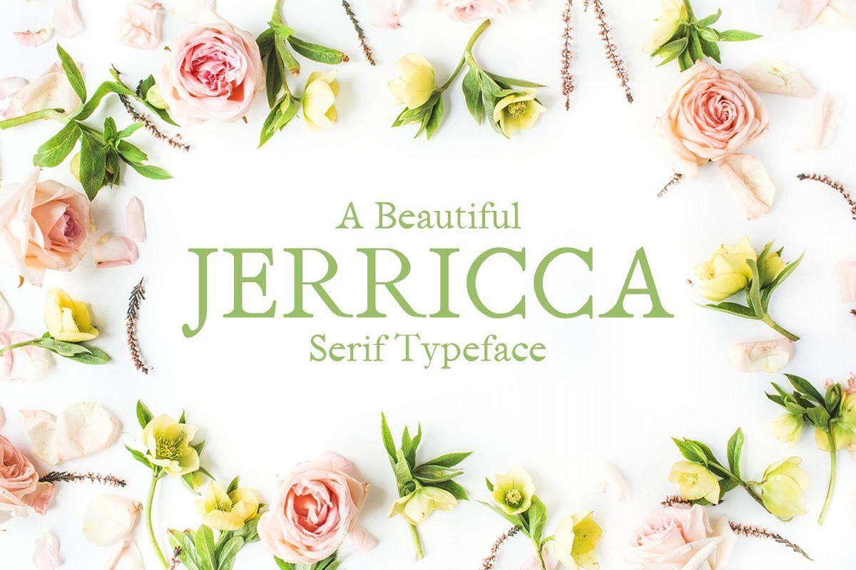 Jerricca Serif Typeface example image 1
