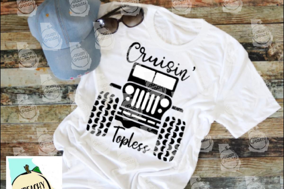 Cruisin Topless T-shirt SVG example image 1