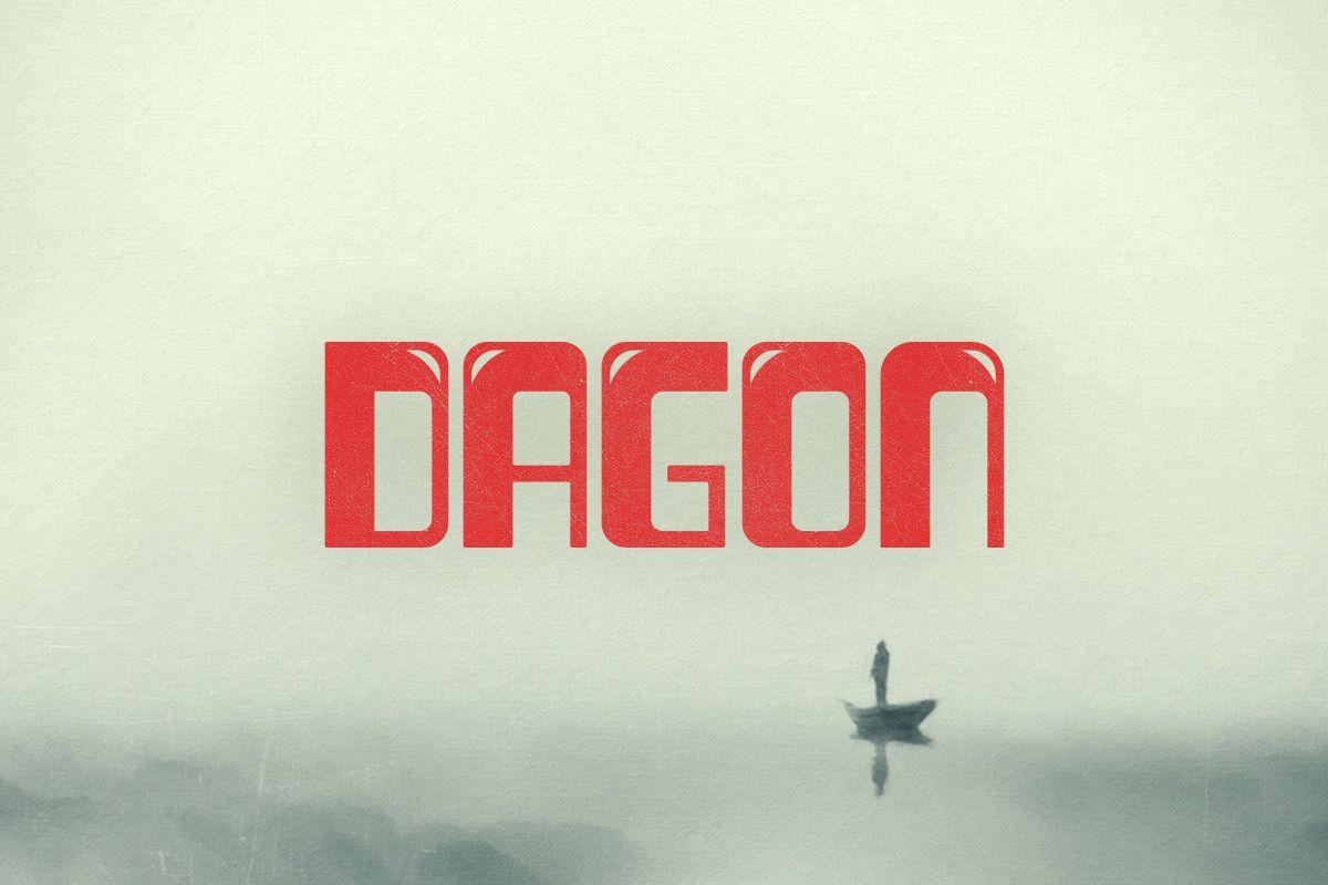 Dagon Typeface example image 1