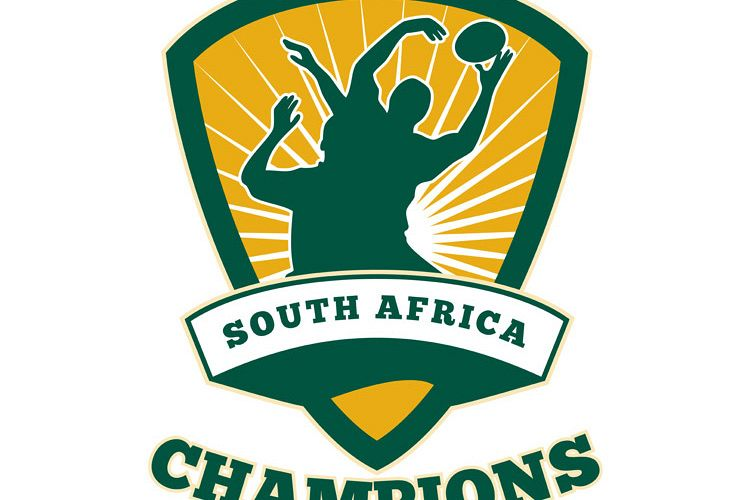 Rugby Player South Africa Champions example image 1