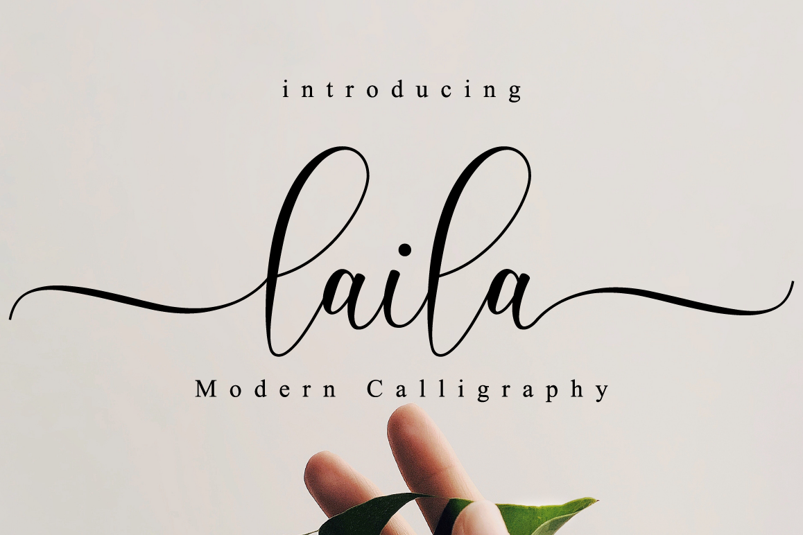 Laila Script example image 1