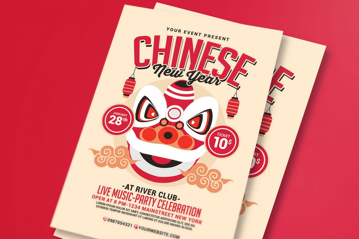 Chinese New Year Flyer example image 1
