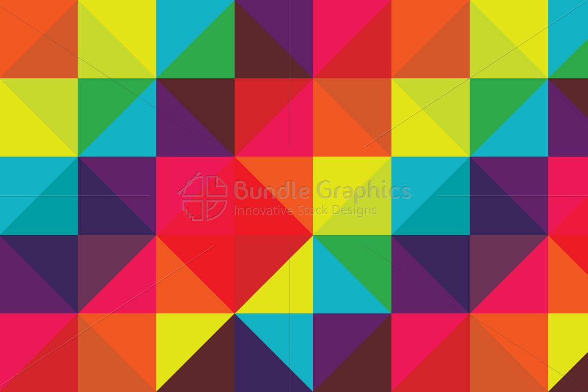 Colorful Geometrical Pattern example image 1