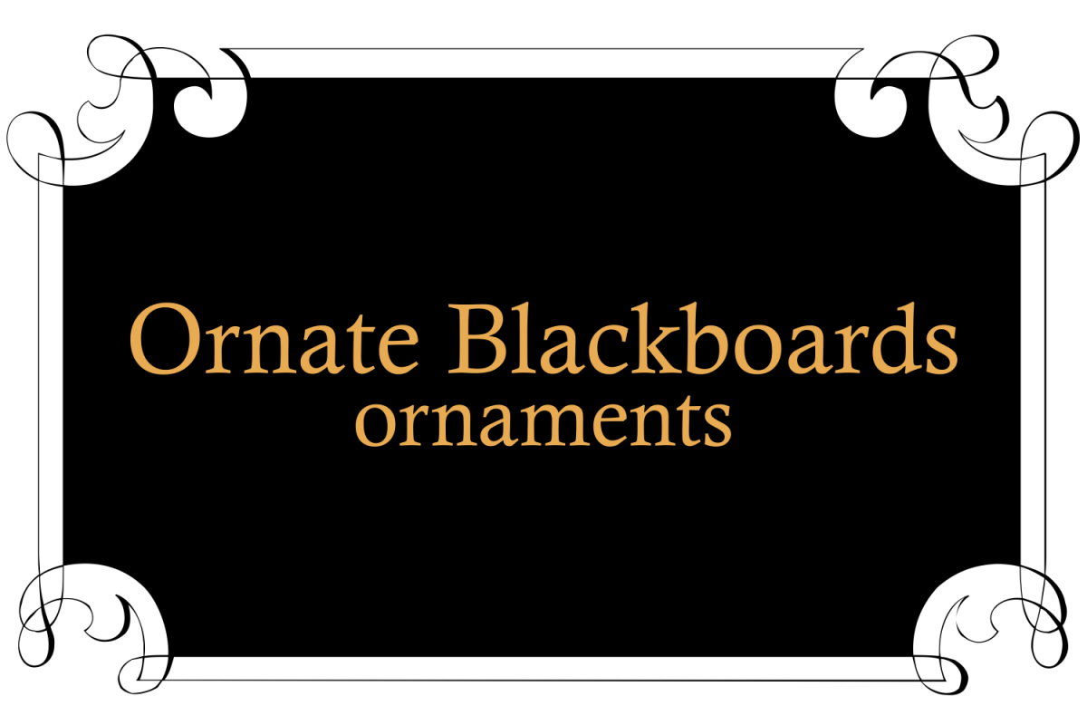 Ornate Blackboards  example image 1